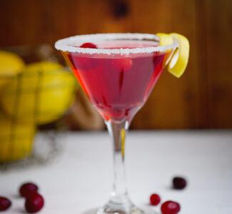 Best Cranberry Limoncello Cosmo