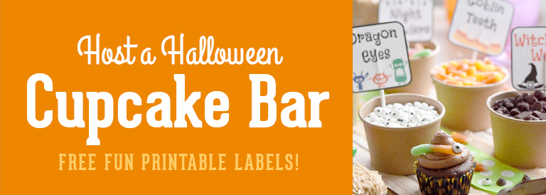Host a Halloween Cupcake Bar