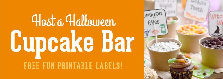 Host a Halloween Cupcake Bar