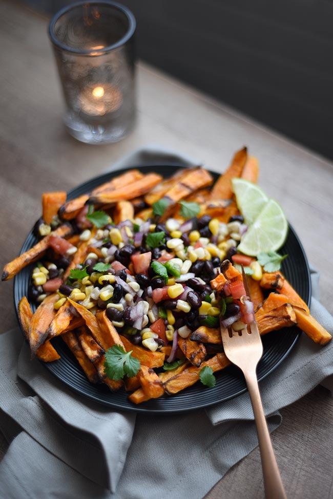 Mexican Sweet Potato Fries