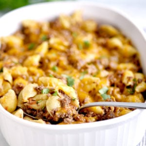 Basic Taco Pasta Casserole