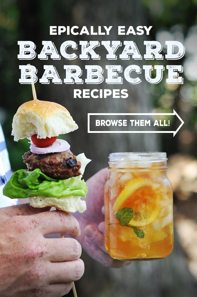 Backyard Barbecue Recipes #shop