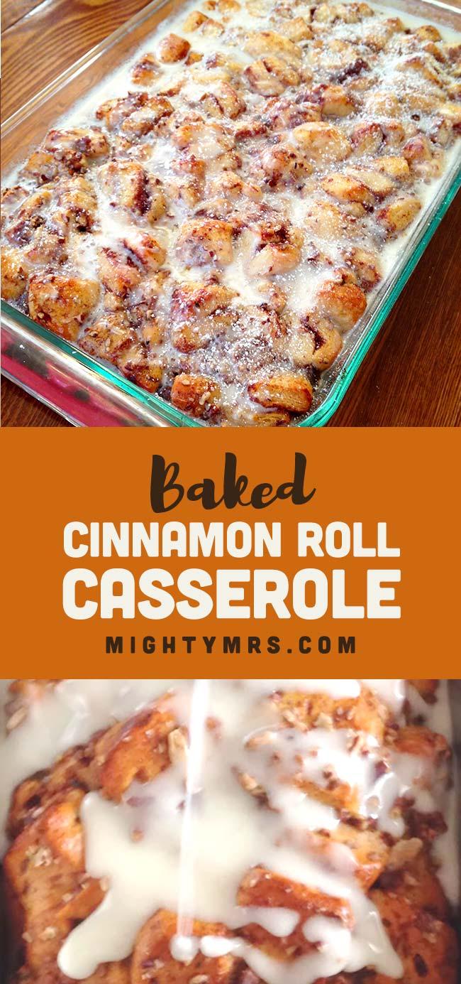 Cinnamon Roll Casserole