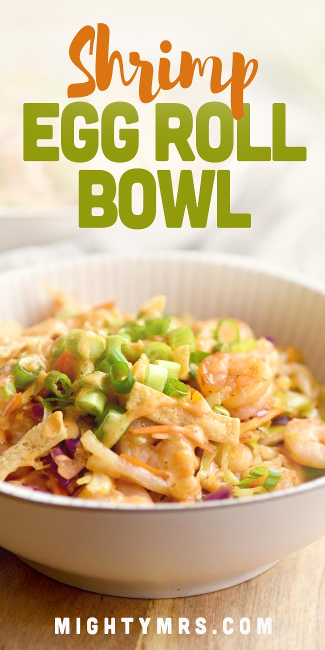 Bang Bang Shrimp Egg Roll Bowl