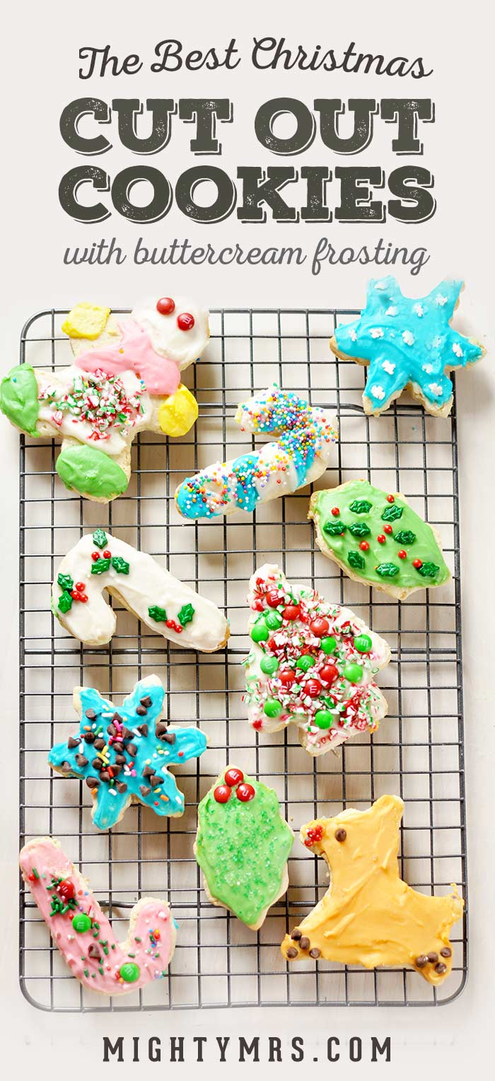 Best Christmas Cut-Out Cookies