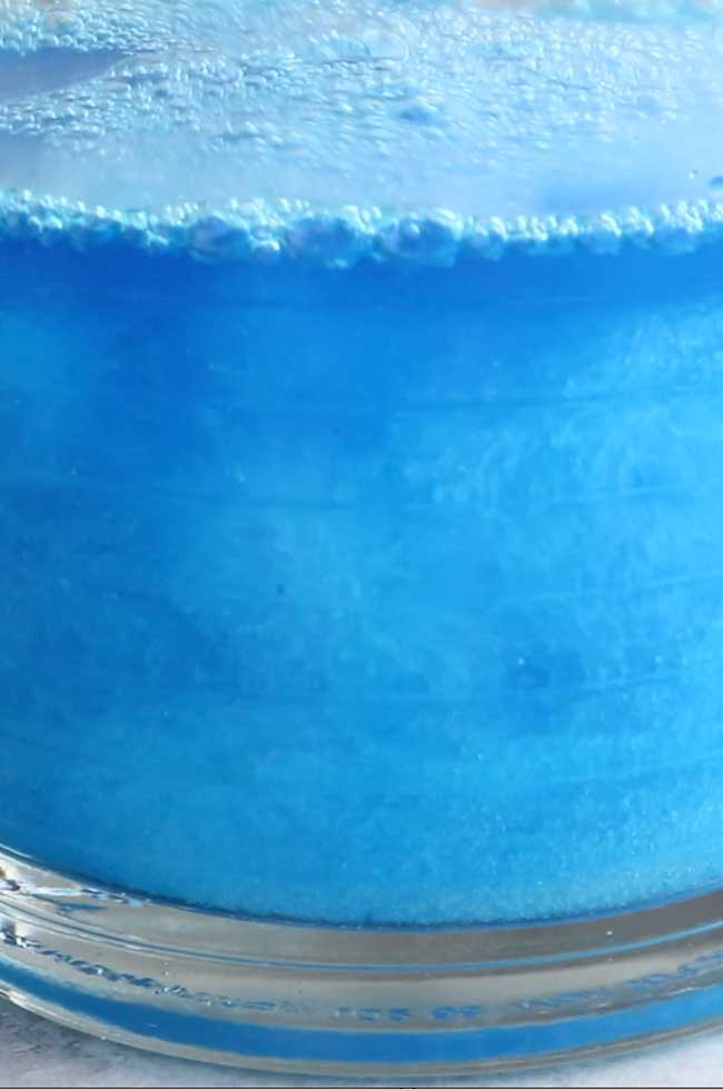 Ocean Blue Jello