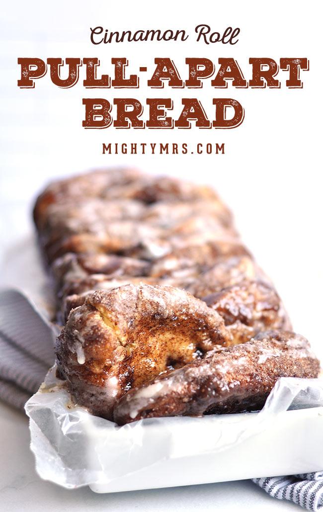 Cinnamon Pull Aprt Loaf