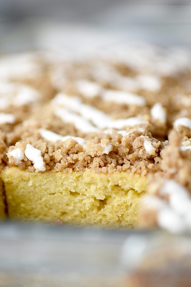 Lightened Up Homemade Coffee Cake