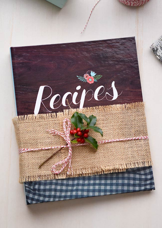 Cookbook as a gift