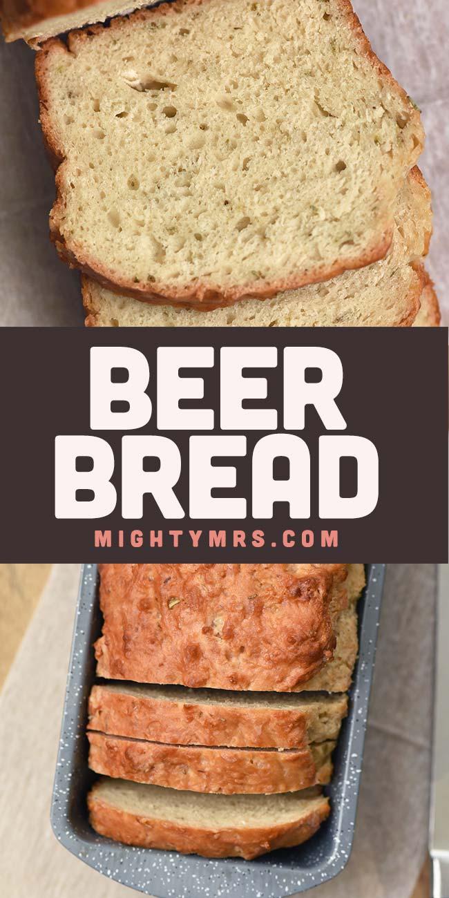 Easy Beer Bread Recipe (5 Ingredients No Yeast)