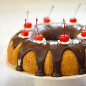 Boston Cream Bundt Cake