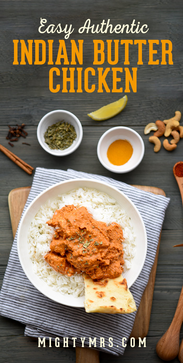 Easy Authentic Butter Chicken Recipe