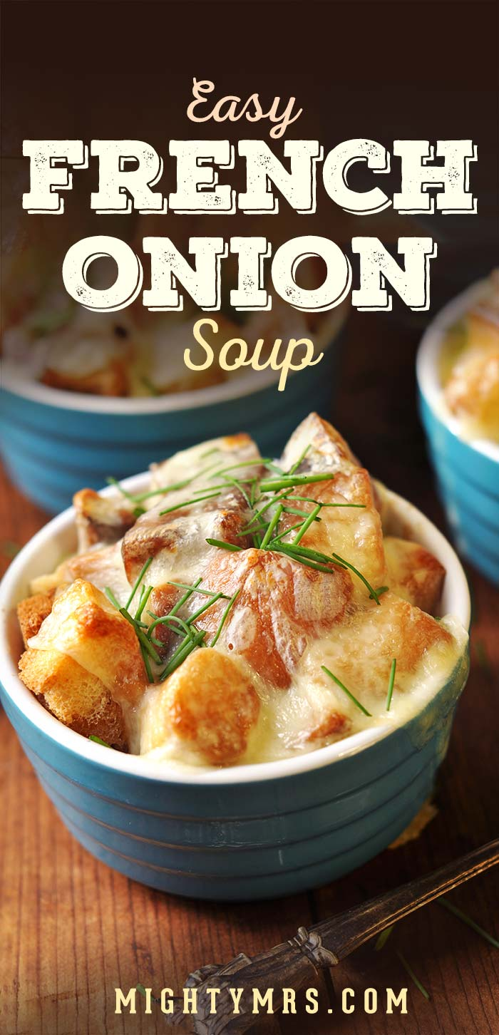 French Onion Soup with Marsala Wine