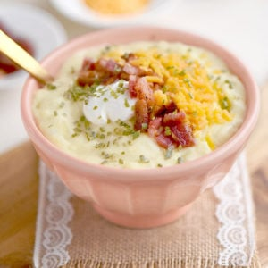 Easy Loaded Potato Soup
