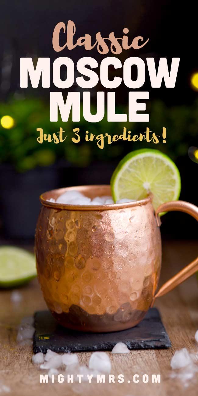 Classic Moscow Mule in Copper Mug