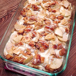 Easy Apple Strudel Dessert