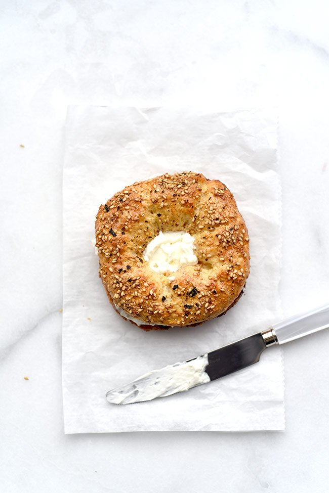 Homemade Bagels - Simple 5-ingredient recipe using Greek yogurt