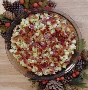 Hominy Breakfast Casserole