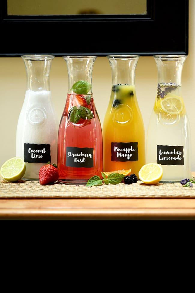 Agua Fresca Drink Bar (4 Easy Recipes)
