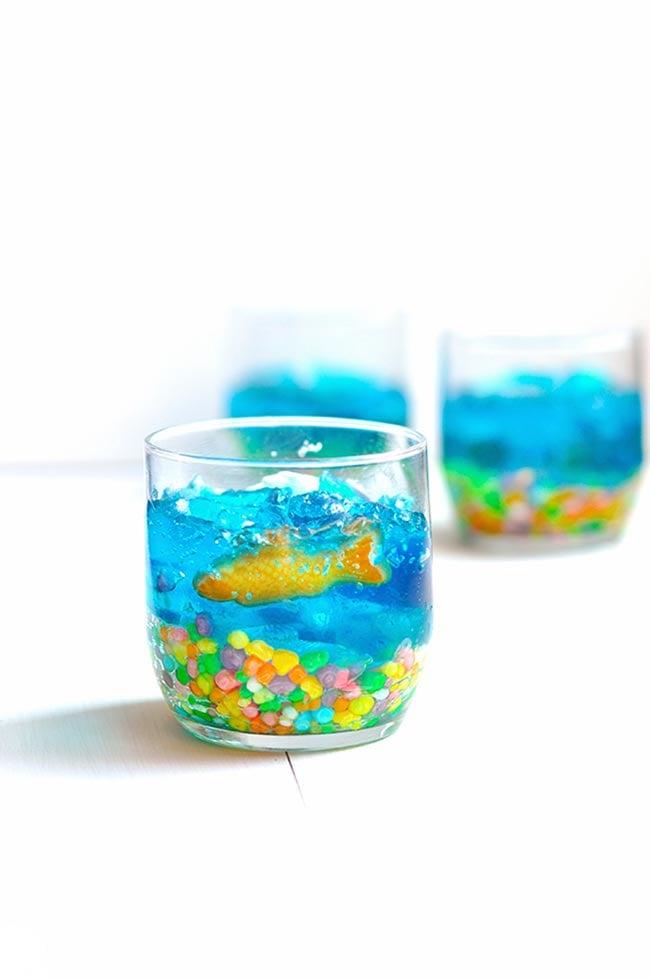 Jello Fish Bowls