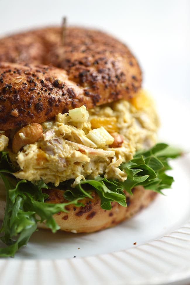 Curried Chicken Salad with Mango and Cashews