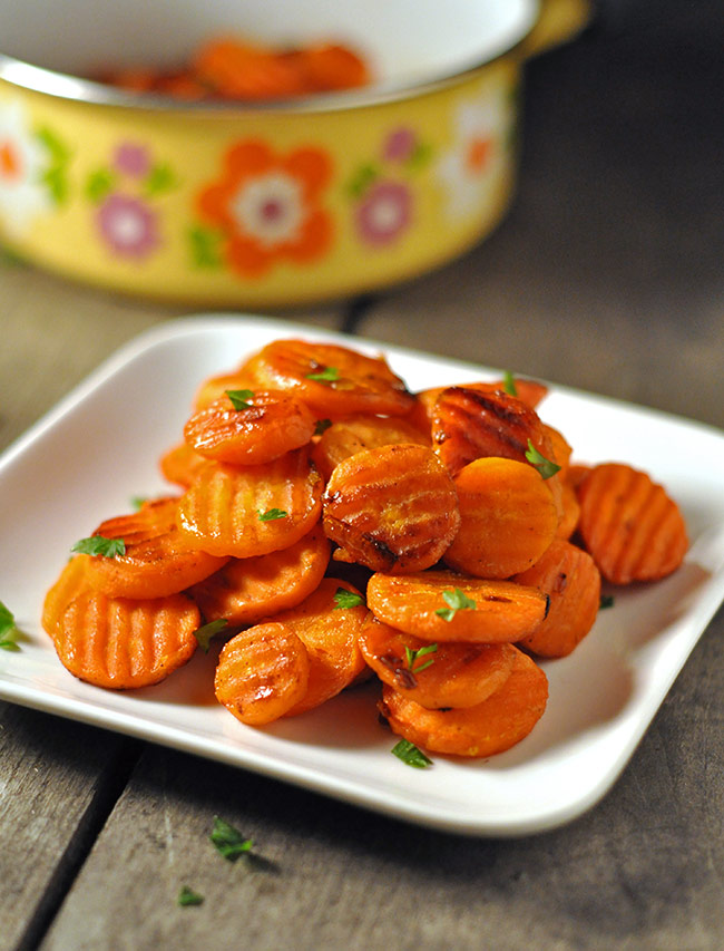 Orange Candied Carrots