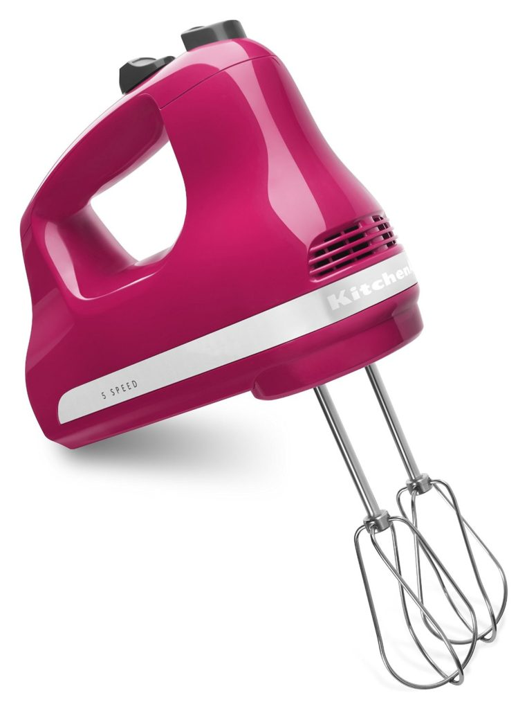 Pink KitchenAid Hand Mixer