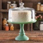Pioneer Woman Mint Jade Cake Stand