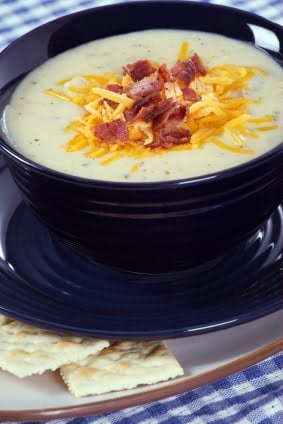 Bacon Potato Leek Soup