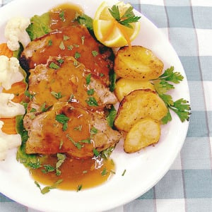 Crock-Pot Pork Roast Au Jus