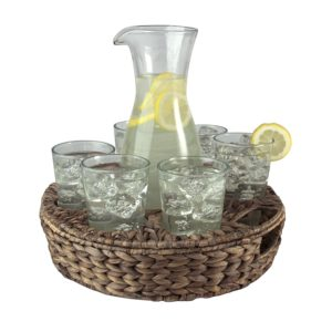 Sangria Glass Pitcher Set