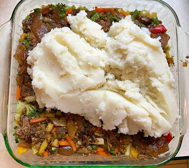 Vegetable in Shephers Pie