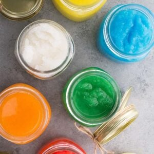 Homemade Sugar Scrubs (Food Grade)