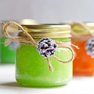 Simple Homemade Sugar Scrub