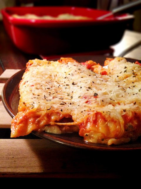Six-Cheese Turkey Manicotti