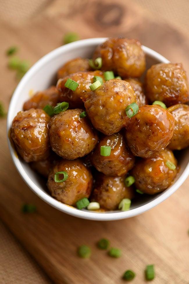 Spicy Orange Marmalade Meatballs