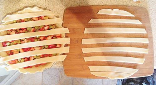 Step 1 - How to Make a Lattice Pie Crust