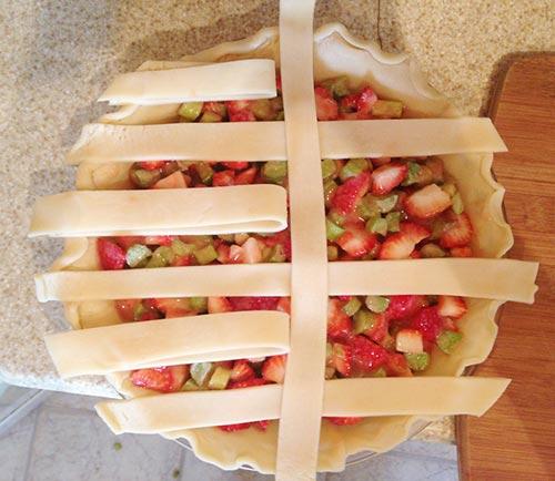 Step 3 - How to Make a Lattice Pie Crust