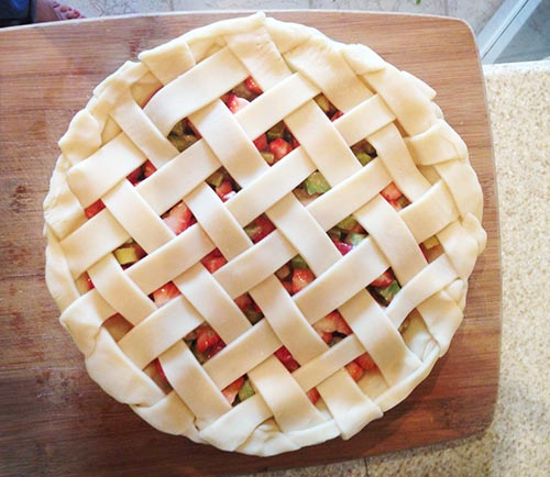 How to Make a Lattice Pie Crust