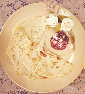 Swedish Lingonberry Crepes