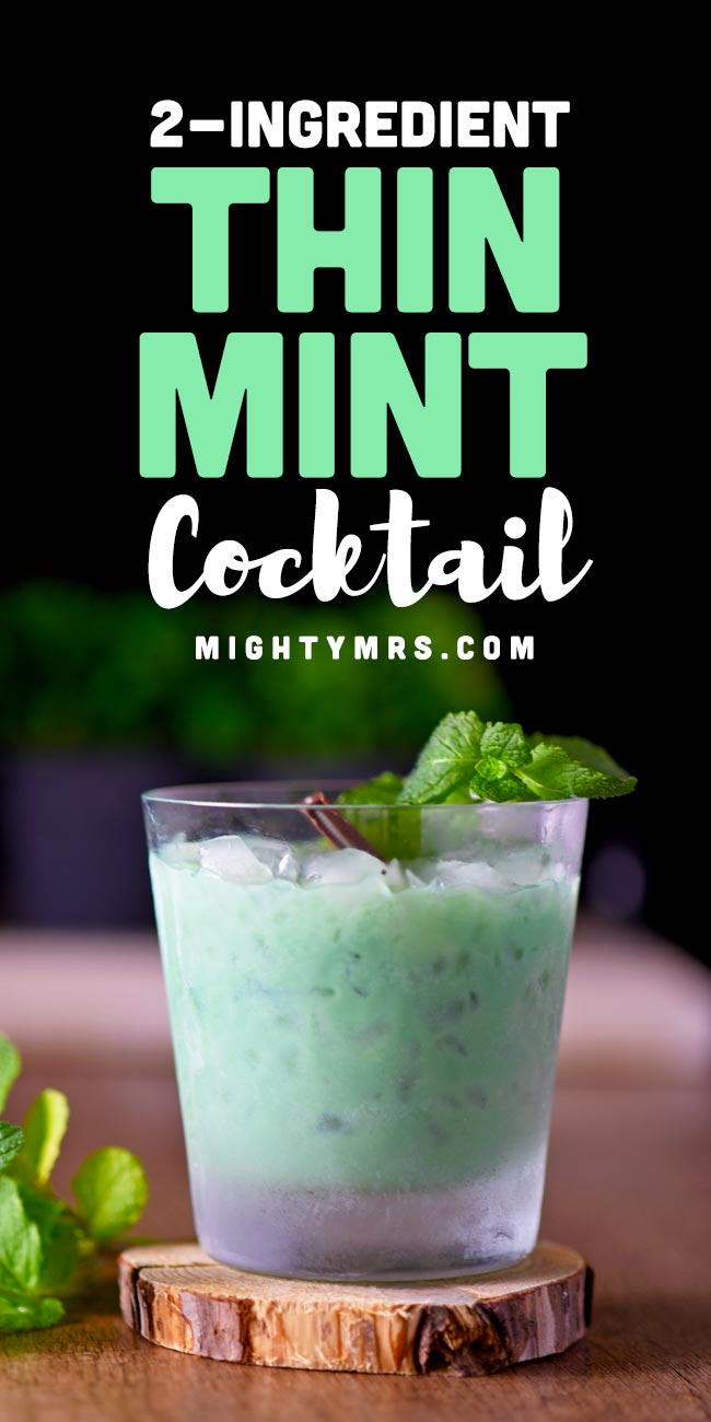 Think Mint Cocktail - Just Two Ingredients