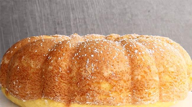 Twinkie Cake Powdered Sugar