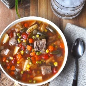 Old Fashioned Vegetable Beef Soup