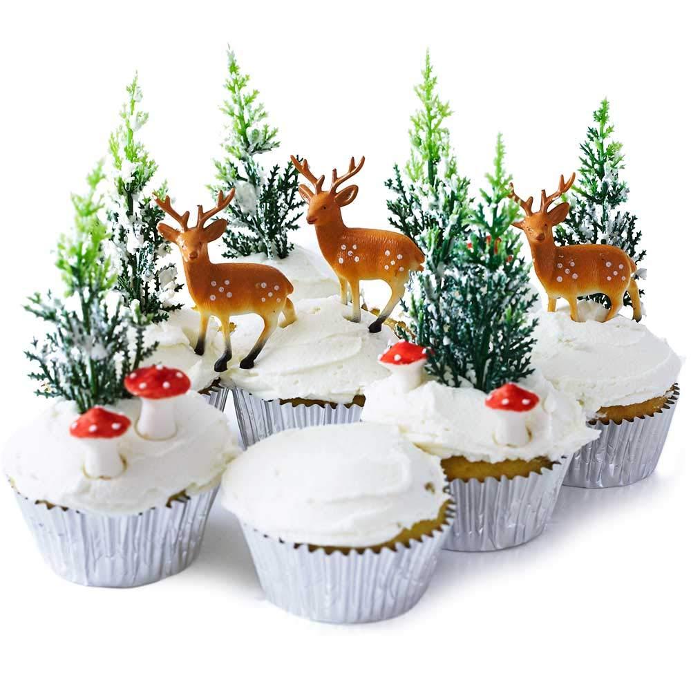 Woodland Cake Topper Set
